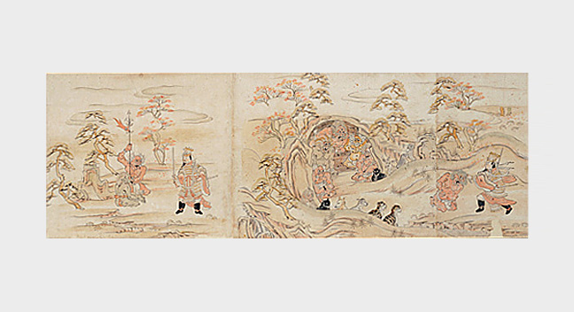 Picture Scroll of the Twelve Origins of Buddhist Suffering