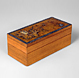 Writing Box with Flower and Bamboo Design